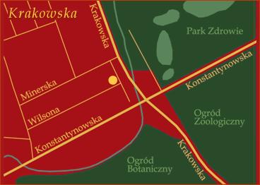Dojazd - Łódż, Krakowska 10 - PIK Hurtownia dodatków pasmanteryjnych
